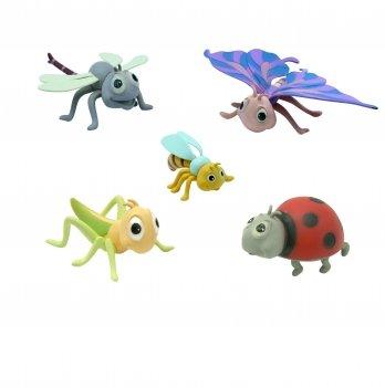 Набор игрушек-фигурок Насекомые Baby Team 8834, 5 шт