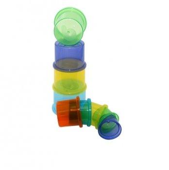 Игрушка Baby Team 8850 Чудо-пирамидка 9 стаканчиков