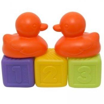 Набор игрушек Baby Team 8851 Оранжевые уточки