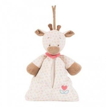 Мягкая игрушка-сумка для подгузников Nattou, жираф Шарлота