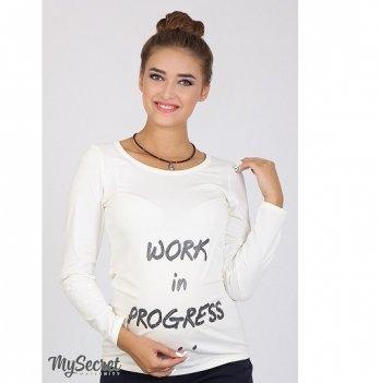 Лонгслив для беременных MySecret Cool LS-36.042 молоко
