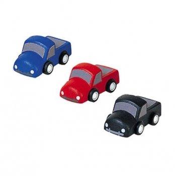 Набор деревянных машинок PlanToys® Мини-грузовики