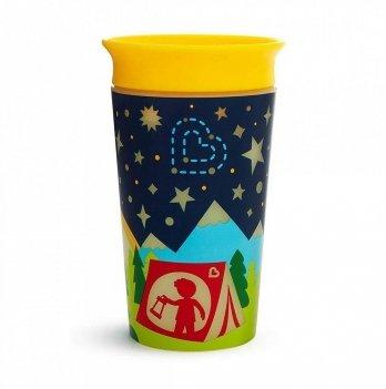 Чашка непроливная Munchkin Miracle 360 Glow in the Dark Желтый 21193.02 266 мл