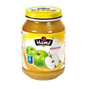 Пюре фруктовое Hame яблоко 190 г