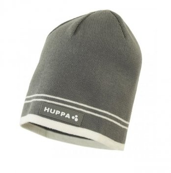 Вязаная шапка для мальчика Huppa Tom Серый 80120000-90048