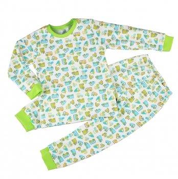 Пижама для мальчика PaMaYa Машинки 9-07-1