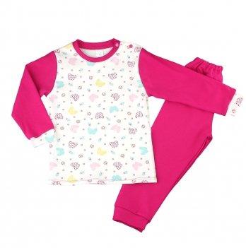 Пижама для девочки PaMaYa Бабочки 9-07-2