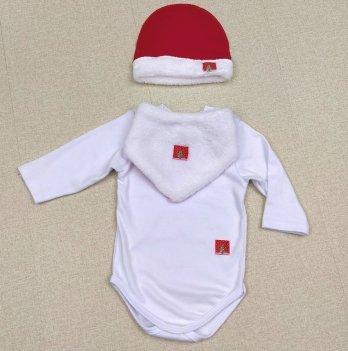 Новогодний комплект на мальчикаPaMaYa Белый 6 мес-1.5 года 9-108