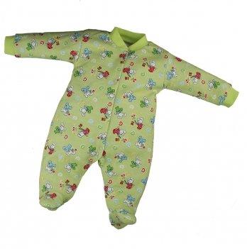 Человечек для новорожденных PaMaYa Салатовый 9-53-5