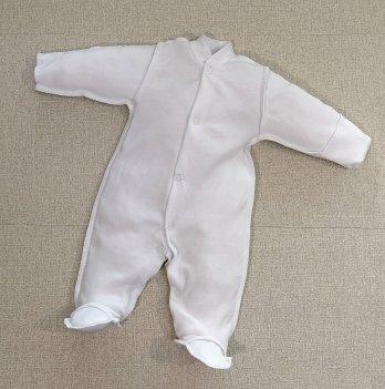 Человечек для новорожденных PaMaYa Белый  9-35-8