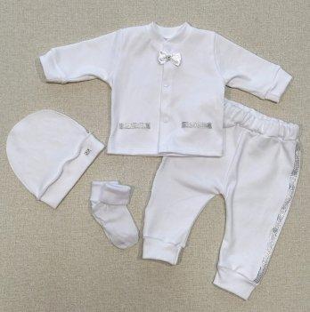 Одежда для крещения мальчика PaMaYa 9-86 Белый