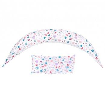 Подушка для беременных Nuvita, 10 в 1 DreamWizard, белая