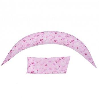 Подушка для беременных Nuvita, 10 в 1 DreamWizard, розовая