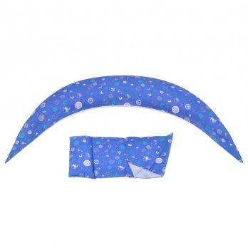 Подушка для беременных Nuvita, 10 в 1 DreamWizard, синяя