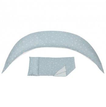Подушка для беременных Nuvita, 10 в 1 DreamWizard, голубая