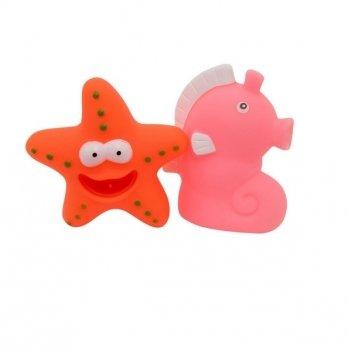 Набор игрушек для ванны Забавное купание Baby Team 9008 Морской конек