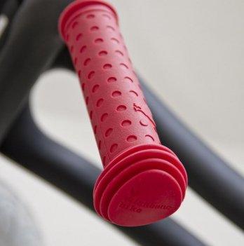 Ручки на руль Grips Red/Красные, Wishbone