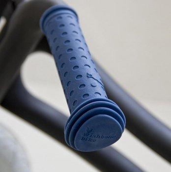 Ручки на руль Grips Blue/Синие, Wishbone