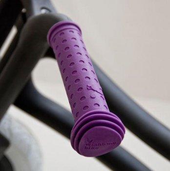 Ручки на руль Grips Purple/Фиолетовые, Wishbone