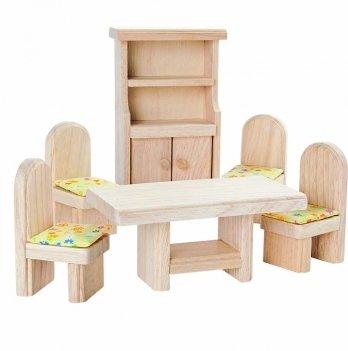 Деревянный игровой набор PlanToys® Столовая классическая