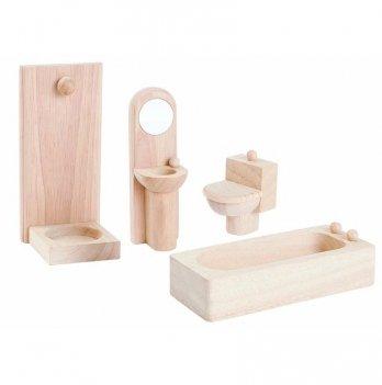 Деревянный игровой набор PlanToys® Ванная классическая