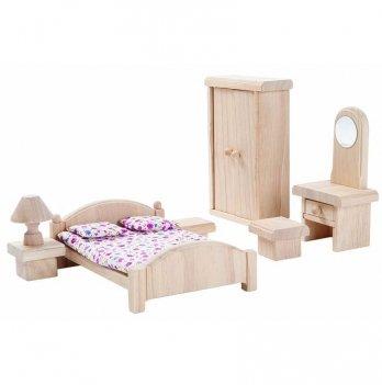 Деревянный игровой набор PlanToys® Спальня классическая