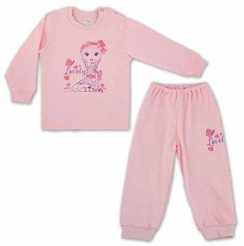 Пижама для девочки PaMaYa 91-07н-1 розовый