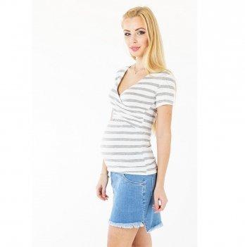 Джинсовая юбка для беременных To Be Голубой варка 1 4064678-11