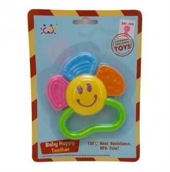 Прорезыватель для зубов Huile Toys 919-3 Цветочек
