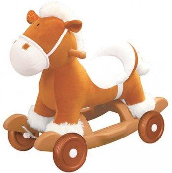 Чудокачалка Музыкальный Пони, Kiddieland - preschool, съемные колеса, полозья, звук