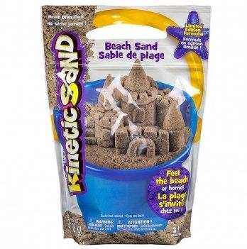 Песок для детского творчества Wacky-Tivities - KINETIC SAND BEACH (натуральный цвет, 1360 г)
