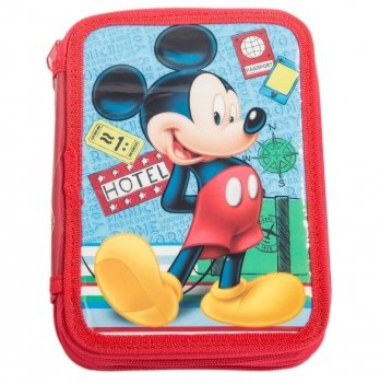 Пенал Arditex Микки Маус (Mickey) на 2 отделения