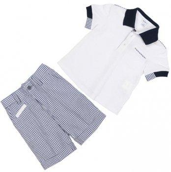 Костюм футболка и шортики Baby A Polo