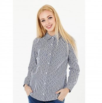 Блуза для беременных и кормящих To Be Синий 1379224