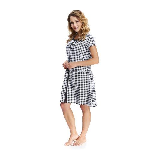 Домашнее платье для беременных и кормящих женщин Dobranocka, TCB.9444 black