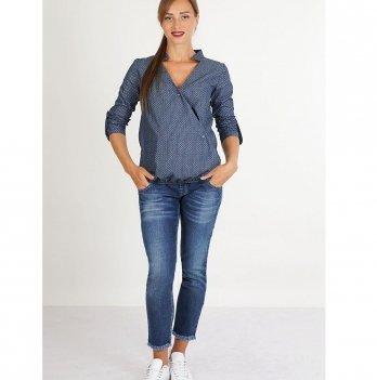 Блуза для беременных и кормящих To Be Синий 4011651