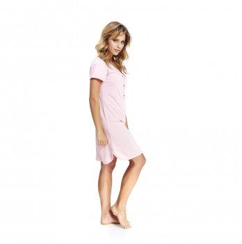 Домашнее платье для беременных и кормящих женщин Dobranocka, TCB.9505 sweet pink