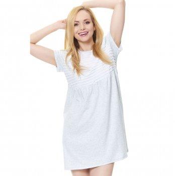 Ночная сорочка для беременных Dobranocka, TM.9530 grey melange