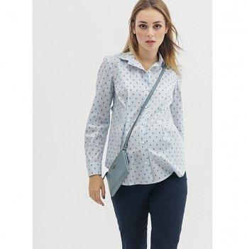 Рубашка для беременных To Be Серый цветочек 1308224