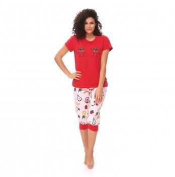 Пижама женская Dobranocka PM.9615 red