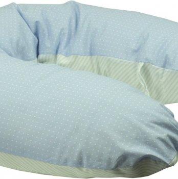 Подушка для беременных и кормления ТМ Руно Панда, с наволочкой, голубая