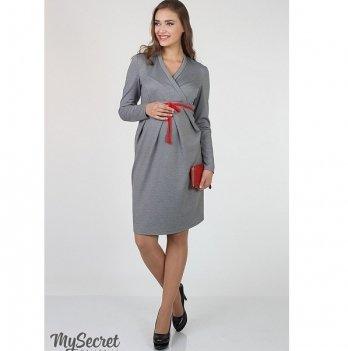 Платье для беременных и кормящих мам MySecret Messalina DR-36.092 серый