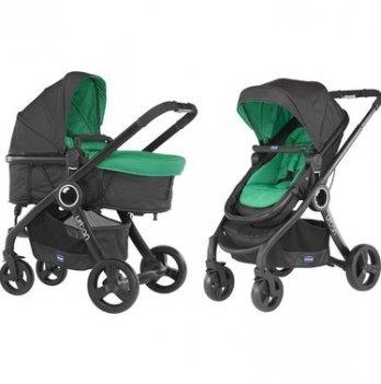Коляска Chicco Urban Plus Stroller 2 в 1, зеленая