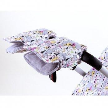 Муфта на коляску для рук GoforKid ВигВам, хлопок