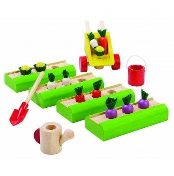 Деревянный игровой набор PlanToys® Огород