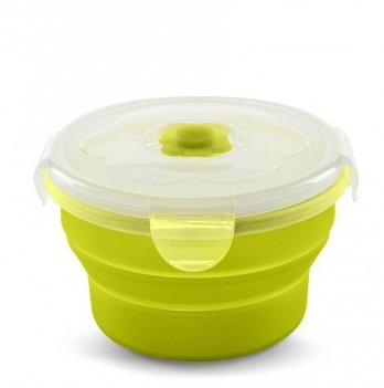 Контейнер-трансформер для еды Nuvita 6м+, 540мл, салатовый