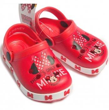 Сабо Disney Минни Маус, красные