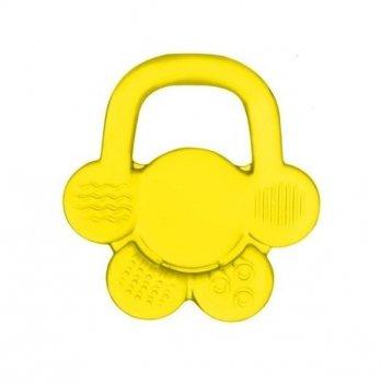 Прорезыватель с гелем BabyOno Цветок, желтый
