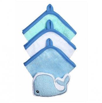 Набор мочалок для младенцев BabyOno 3 шт., голубой