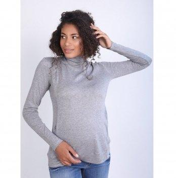 Джемпер для беременных и кормящих To Be Серый 4131050